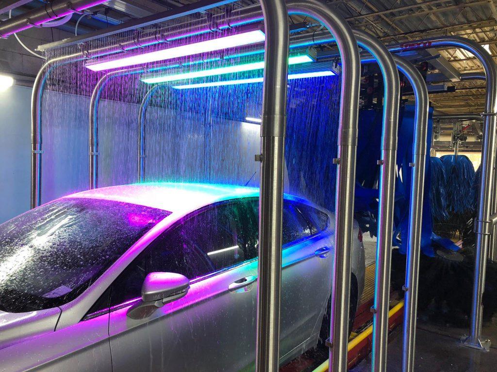 Our Iron Bridge Location Has New Car Wash Equipment!